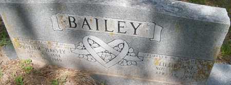 BAILEY, PULLIAM HARVEY - Houston County, Texas | PULLIAM HARVEY BAILEY - Texas Gravestone Photos
