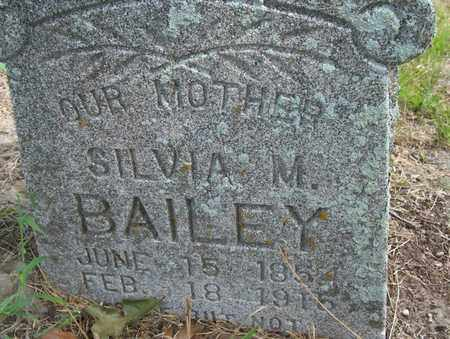 BAILEY, SILVIA - Houston County, Texas | SILVIA BAILEY - Texas Gravestone Photos