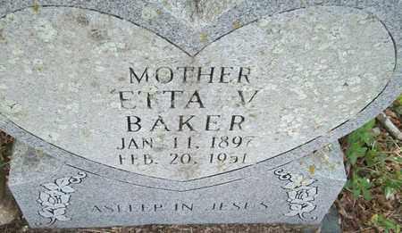 BAKER, ETTA V. - Houston County, Texas   ETTA V. BAKER - Texas Gravestone Photos