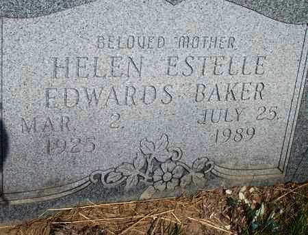 BAKER, HELEN ESTELLE - Houston County, Texas | HELEN ESTELLE BAKER - Texas Gravestone Photos
