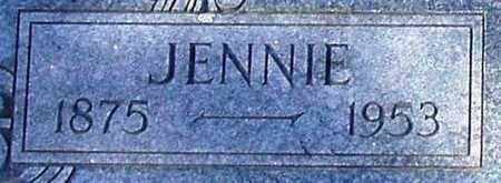 BEESON, JENNIE (CLOSE UP) - Houston County, Texas   JENNIE (CLOSE UP) BEESON - Texas Gravestone Photos