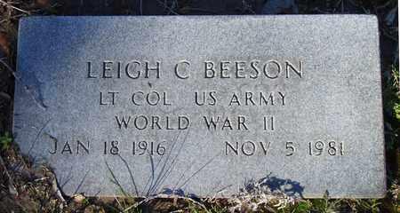 BEESON (VETERAN WWII), LEIGH C. - Houston County, Texas | LEIGH C. BEESON (VETERAN WWII) - Texas Gravestone Photos