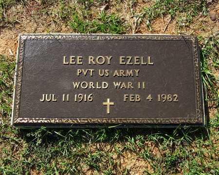 EZELL (VETERAN WWII), LEE ROY - Houston County, Texas   LEE ROY EZELL (VETERAN WWII) - Texas Gravestone Photos