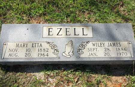 EZELL, WILEY JAMES - Houston County, Texas | WILEY JAMES EZELL - Texas Gravestone Photos