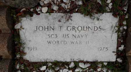 GROUNDS (VETERAN WWII), JOHN TREMOND - Houston County, Texas | JOHN TREMOND GROUNDS (VETERAN WWII) - Texas Gravestone Photos