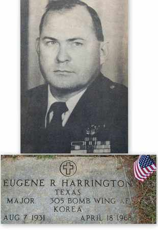 HARRINGTON (VETERAN KOR), EUGENE RAY - Houston County, Texas | EUGENE RAY HARRINGTON (VETERAN KOR) - Texas Gravestone Photos