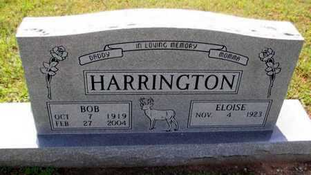 "HARRINGTON, ROBERT FRANCIS ""BOB"" - Houston County, Texas | ROBERT FRANCIS ""BOB"" HARRINGTON - Texas Gravestone Photos"