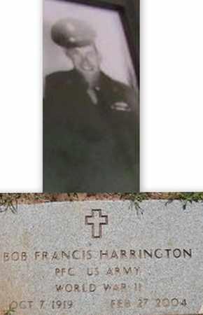 HARRINGTON (VETERAN WWII), ROBERT FRANCIS - Houston County, Texas   ROBERT FRANCIS HARRINGTON (VETERAN WWII) - Texas Gravestone Photos