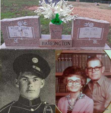 "HARRINGTON (VETERAN WWII)(POW), WILLIE HENRY ""BILL"" - Houston County, Texas | WILLIE HENRY ""BILL"" HARRINGTON (VETERAN WWII)(POW) - Texas Gravestone Photos"