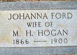 HOGAN, JOHANNA - Houston County, Texas | JOHANNA HOGAN - Texas Gravestone Photos