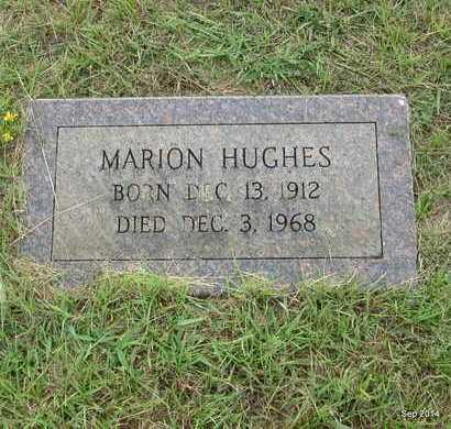 HUGHES, MARION - Houston County, Texas   MARION HUGHES - Texas Gravestone Photos