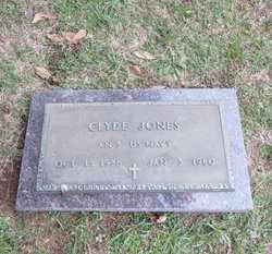 JONES (VETERAN), CLYDE - Houston County, Texas | CLYDE JONES (VETERAN) - Texas Gravestone Photos