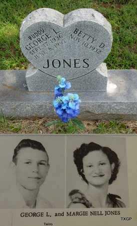 JONES, GEORGE L - Houston County, Texas | GEORGE L JONES - Texas Gravestone Photos