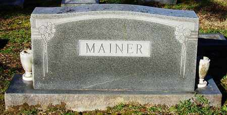 MAINER, FAMILY STONE - Houston County, Texas | FAMILY STONE MAINER - Texas Gravestone Photos