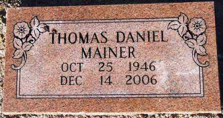 MAINER (VETERAN VIET), THOMAS DANIEL - Houston County, Texas | THOMAS DANIEL MAINER (VETERAN VIET) - Texas Gravestone Photos