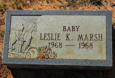 MARSH, LESLIE K. - Houston County, Texas | LESLIE K. MARSH - Texas Gravestone Photos