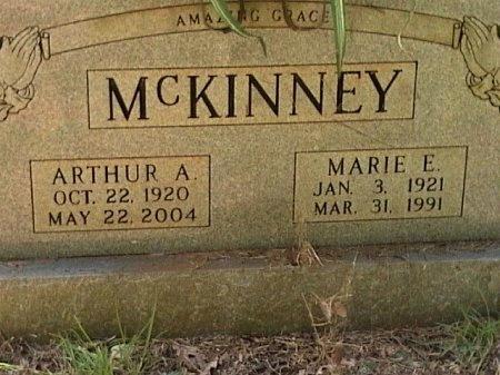MCKINNEY, ARTHUR ABNER - Houston County, Texas | ARTHUR ABNER MCKINNEY - Texas Gravestone Photos