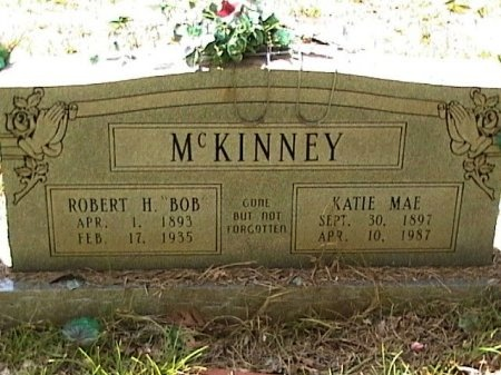 VAUGHAN MCKINNEY, KATIE MAE - Houston County, Texas | KATIE MAE VAUGHAN MCKINNEY - Texas Gravestone Photos