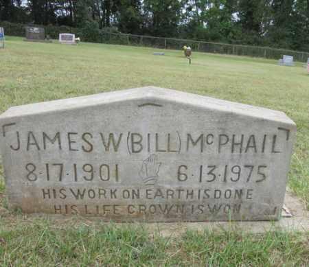 MCPHAIL, JAMES WILLIAM - Houston County, Texas | JAMES WILLIAM MCPHAIL - Texas Gravestone Photos