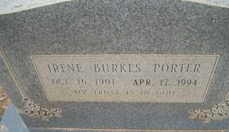 PORTER, IRENE - Houston County, Texas | IRENE PORTER - Texas Gravestone Photos