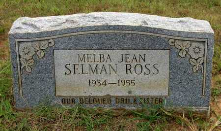 SELMAN ROSS, MELBA JEAN - Houston County, Texas | MELBA JEAN SELMAN ROSS - Texas Gravestone Photos