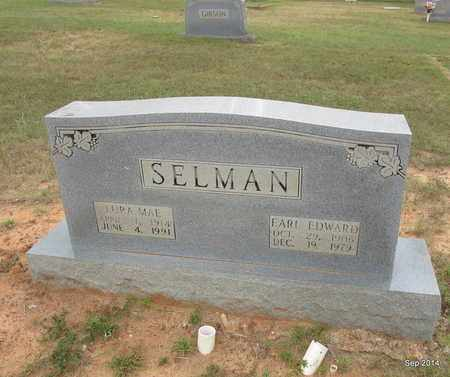 SELMAN, EARL EDWARD - Houston County, Texas | EARL EDWARD SELMAN - Texas Gravestone Photos