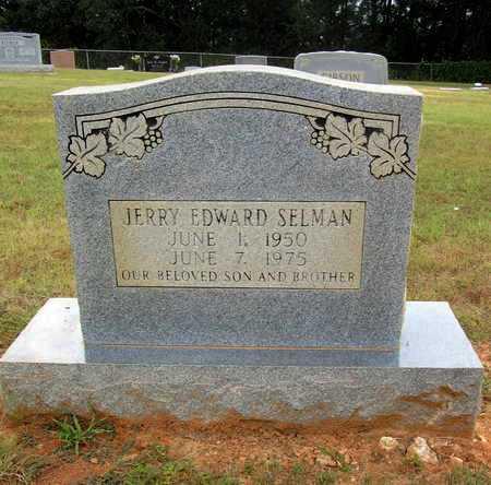 SELMAN, JERRY EDWARD - Houston County, Texas | JERRY EDWARD SELMAN - Texas Gravestone Photos
