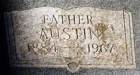 SPEER, AUSTIN (CLOSE UP) - Houston County, Texas | AUSTIN (CLOSE UP) SPEER - Texas Gravestone Photos