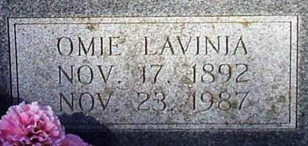 SPEER, OMIE LAVINIA (CLOSE UP) - Houston County, Texas | OMIE LAVINIA (CLOSE UP) SPEER - Texas Gravestone Photos