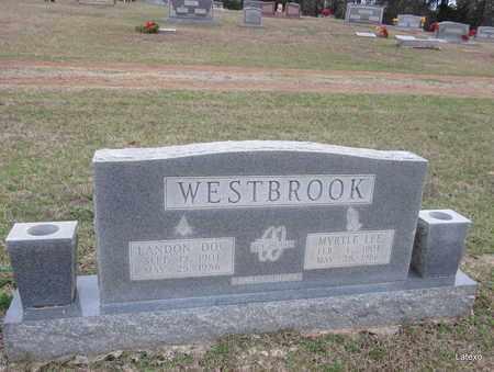 WESTBROOK, LANDON - Houston County, Texas | LANDON WESTBROOK - Texas Gravestone Photos