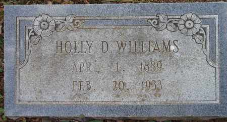 WILLIAMS, HOLLY D. - Houston County, Texas | HOLLY D. WILLIAMS - Texas Gravestone Photos