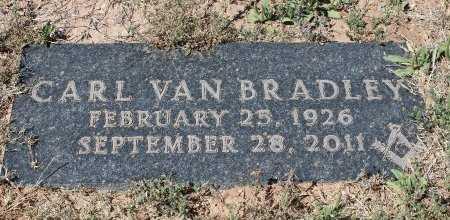 BRADLEY, CARL VAN - Howard County, Texas   CARL VAN BRADLEY - Texas Gravestone Photos