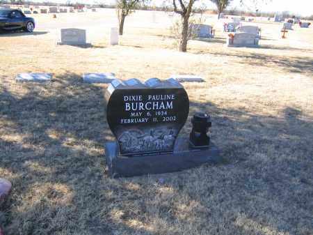 BURCHAM, DIXIE PAULINE - Howard County, Texas   DIXIE PAULINE BURCHAM - Texas Gravestone Photos