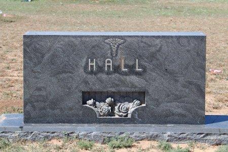 HALL, FAMILY MARKER - Howard County, Texas | FAMILY MARKER HALL - Texas Gravestone Photos