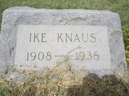 KNAUS, IKE - Howard County, Texas   IKE KNAUS - Texas Gravestone Photos