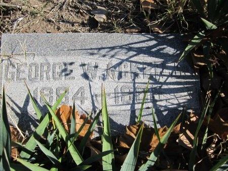 ACKER, III, GEORGE WASHINGTON - Hunt County, Texas   GEORGE WASHINGTON ACKER, III - Texas Gravestone Photos