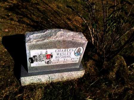RUSHING, CHARLES WESLEY - Hunt County, Texas | CHARLES WESLEY RUSHING - Texas Gravestone Photos