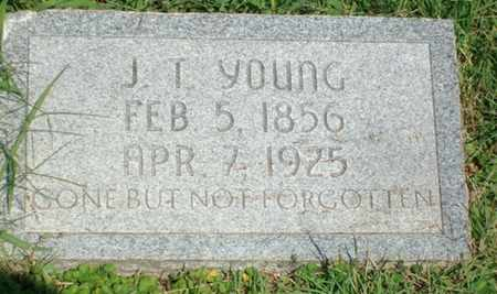 YOUNG, J T - Hunt County, Texas | J T YOUNG - Texas Gravestone Photos