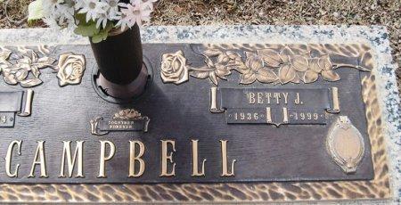 CAMPBELL, BETTY J. (CLOSEUP) - Hutchinson County, Texas | BETTY J. (CLOSEUP) CAMPBELL - Texas Gravestone Photos