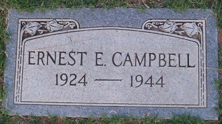 CAMPBELL, ERNEST E. - Hutchinson County, Texas | ERNEST E. CAMPBELL - Texas Gravestone Photos
