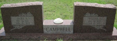 CAMPBELL, WILLIAM D. - Hutchinson County, Texas | WILLIAM D. CAMPBELL - Texas Gravestone Photos