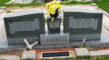 CAMPBELL, JOHN HENRY - Hutchinson County, Texas | JOHN HENRY CAMPBELL - Texas Gravestone Photos