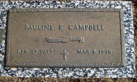 CAMPBELL, PAULINE E. - Hutchinson County, Texas | PAULINE E. CAMPBELL - Texas Gravestone Photos