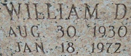 CAMPBELL, WILLIAM D. (CLOSEUP) - Hutchinson County, Texas | WILLIAM D. (CLOSEUP) CAMPBELL - Texas Gravestone Photos