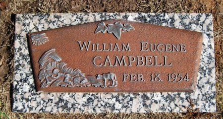 CAMPBELL, WILLIAM EUGENE - Hutchinson County, Texas | WILLIAM EUGENE CAMPBELL - Texas Gravestone Photos