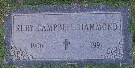 CAMPBELL, RUBY - Hutchinson County, Texas | RUBY CAMPBELL - Texas Gravestone Photos