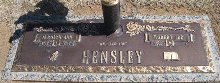 TAYLOR HENSLEY, FAROLYN ANN - Hutchinson County, Texas | FAROLYN ANN TAYLOR HENSLEY - Texas Gravestone Photos
