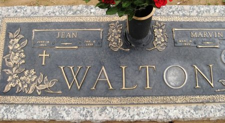 WALTON, JEAN (CLOSEUP) - Hutchinson County, Texas | JEAN (CLOSEUP) WALTON - Texas Gravestone Photos