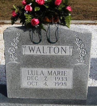 WALTON, LULA MARIE - Hutchinson County, Texas | LULA MARIE WALTON - Texas Gravestone Photos