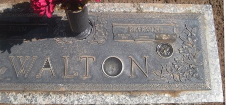 WALTON, MARVIN (CLOSEUP) - Hutchinson County, Texas | MARVIN (CLOSEUP) WALTON - Texas Gravestone Photos